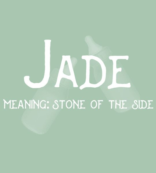 Jade - Sweet and Strong Dutch Baby Names for Girls - Photos