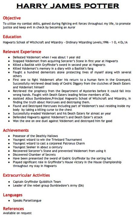 82 best Resumes with a Twist! images on Pinterest