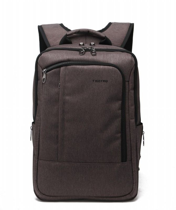 2016 Tigernu New Arrival Waterproof Backpack Men Laptop Backpack 12.1 to 17 Inch Mochila Business Bag School Bags for Boys