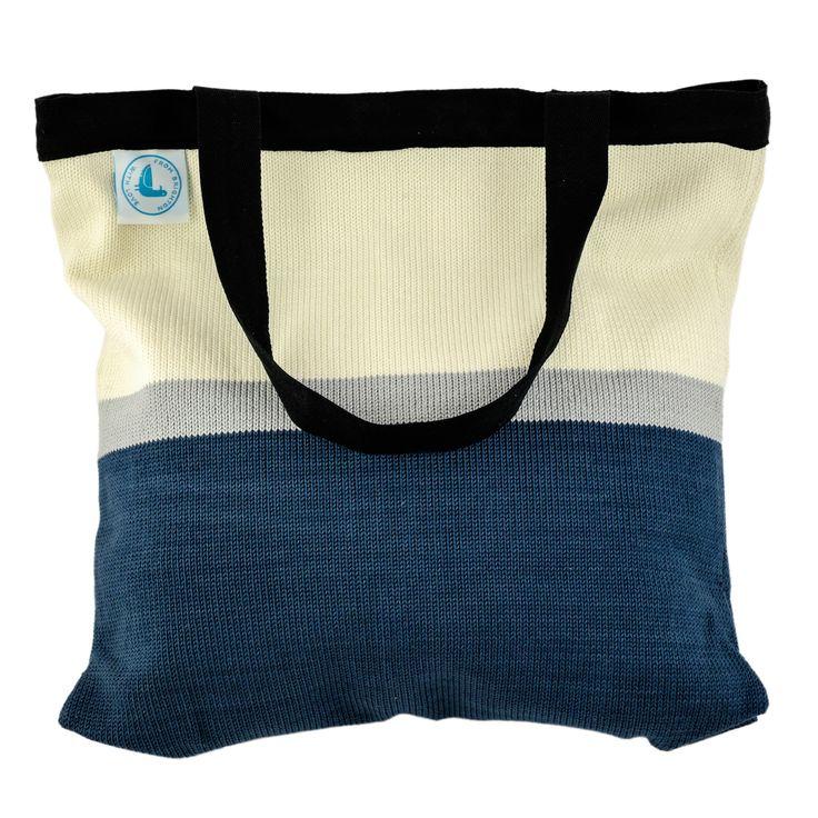 Beach Bag - Block Colour - Blue