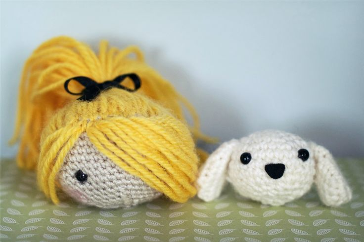 Amigurumi av Ruth på Hungry Heart