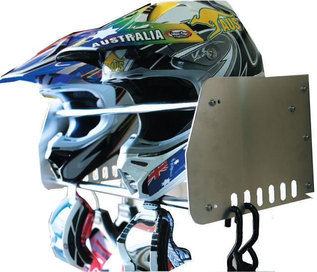 Helmet U0026 Gear Rack   Ballardu0027s Offroad