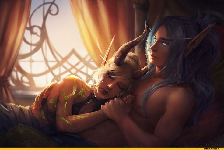 Astri-Sjursen-artist-Blood-elf-Warcraft-расы-3798069.jpeg (1280×843)