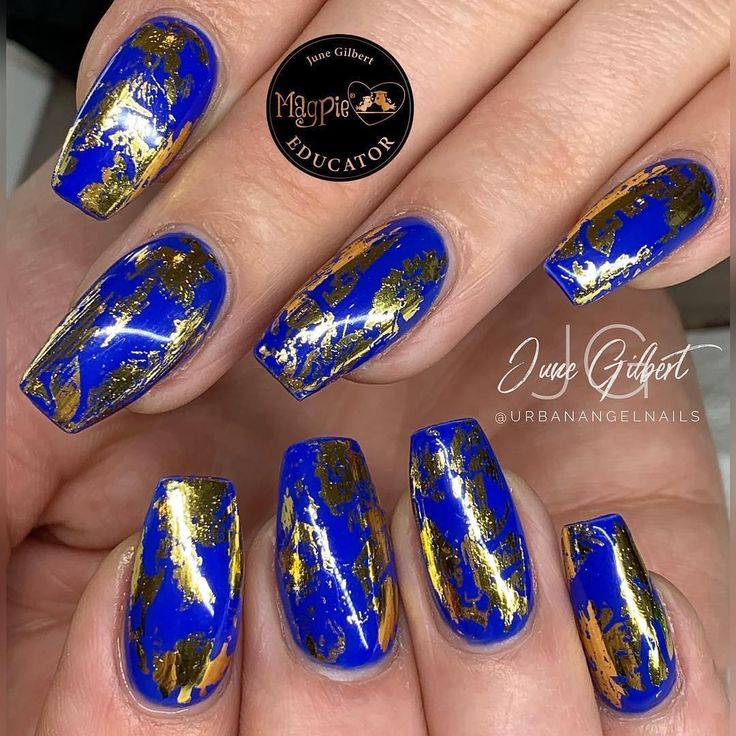 Magpie Beauty On Instagram Feeling Blue Using Everything Magpie Magpie Gel Colour Jazzy Jo Magpie Foil Lilly Ann Gel Color Feeling Blue Beauty