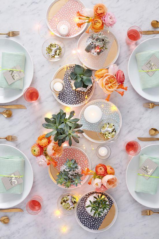 Zo style je je tafel voor de perfecte zomeravonden