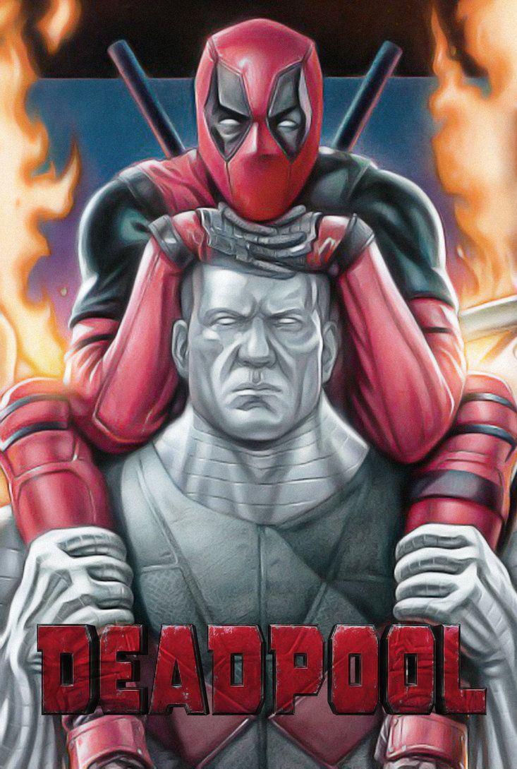 #Deadpool #Fan #Art. (Deadpool ... Just Deadpool) By: Omikonemswveridze. (THE * 5 * STÅR * ÅWARD * OF: * AW YEAH, IT'S MAJOR ÅWESOMENESS!!!™) ÅÅÅ+