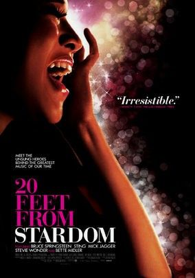 Rich, insightful, and occasionally heartbreaking, 20 Feet From Stardom is an energetic tribute to the passion, talent, and hard work of backup singers.