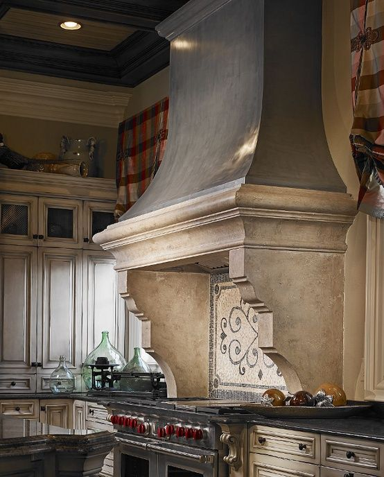 Lovely Country French range hood