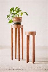 Resultado de imagen de Wooden Plant Stands