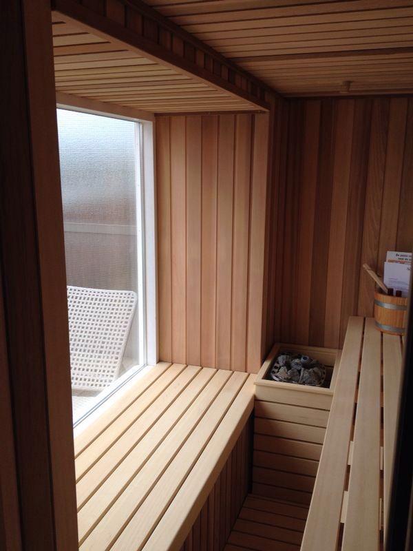 Sauna foto's klanten