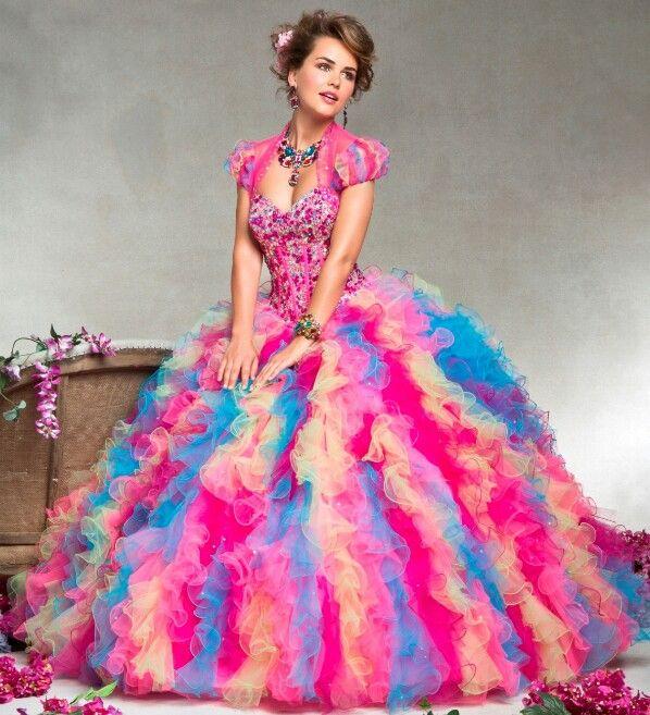 42 mejores imágenes de Dresses en Pinterest | Ideas de quinceañera ...
