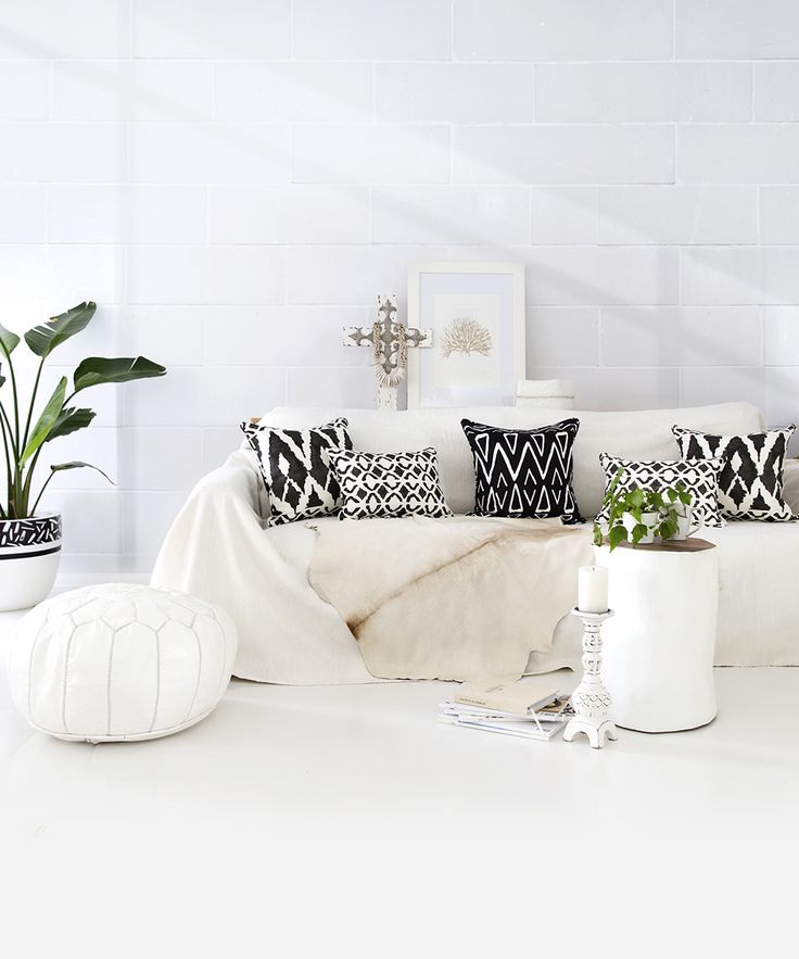 Boho Luxe Josie and June Australian made cushions.  Photo and Styling by The Design Villa