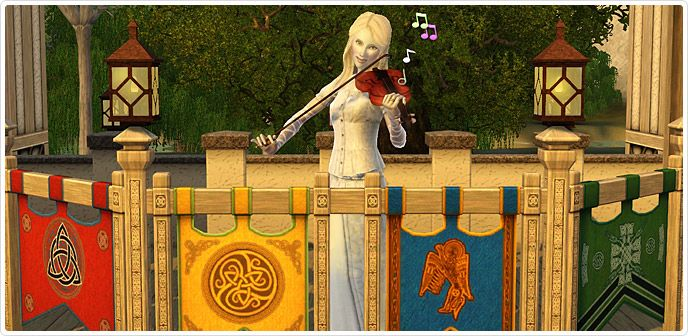 Fit as a Fiddle Violin - New Instrument at The Sims 3 Store