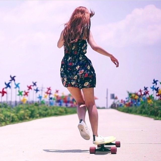 Best longboard for beginner girl dress