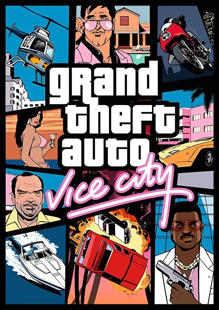 Grand Theft Auto Vice City 2002 In 2020 Grand Theft Auto City Games Grand Theft Auto Games