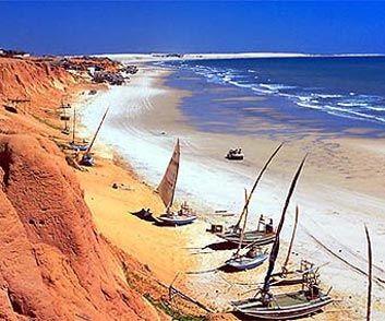 Canoa Quebrada beach, Ceará, Brazil