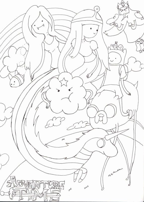 Adventure Time Coloring Book Awesome Kids Adventure Time Coloring Pages In 2020 Adventure Time Coloring Pages Cartoon Coloring Pages Coloring Books