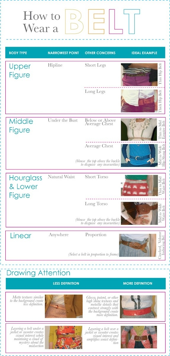How to Wear a Belt ~ 5 Tips from a Fashion Consultant ...