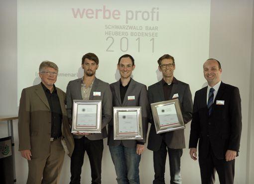 """fsb/welfenburg dreifach ausgezeichnet:  Jury von """"Werbe Profi"""" in drei Kategorien überzeugt."""