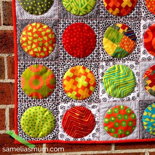 1000 Ideas About Circle Quilt Patterns On Pinterest