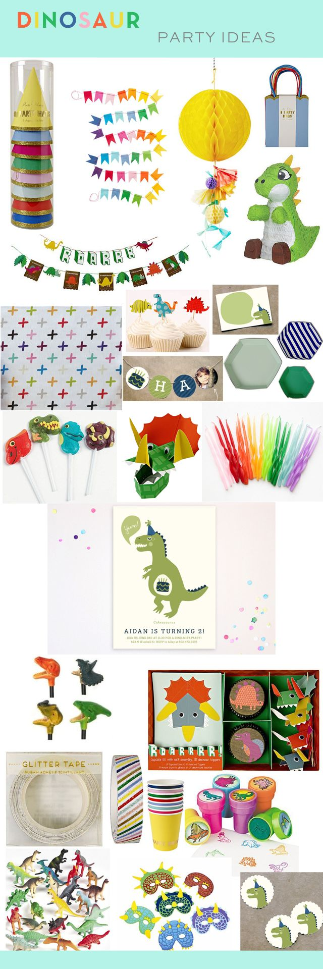 Dinosaur Birthday Party Ideas and Inspiration | ArmelleBlog.com