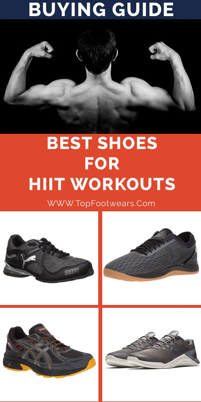 best shoes for hiit workouts mens