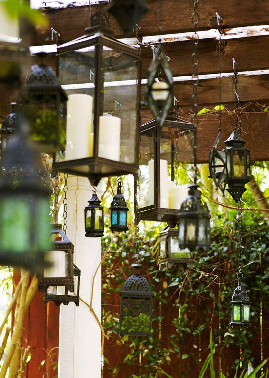 Covered Pool Area Many Of The Thirty Two Lanterns Used To Decorate The  Loggia Were · Outdoor LightingOutdoor ...