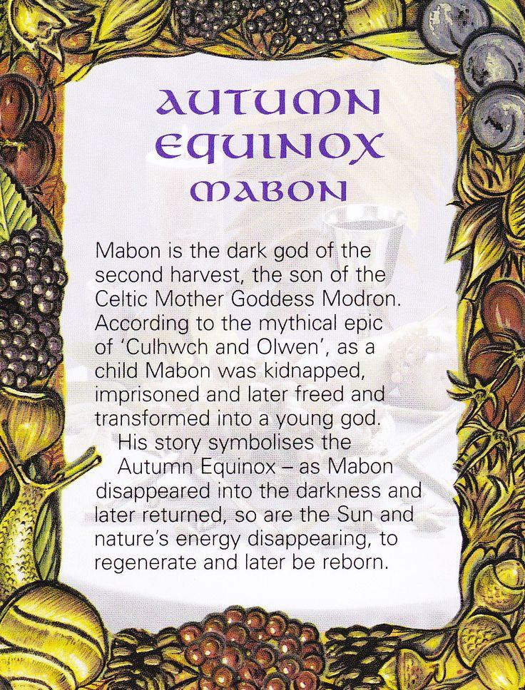 AUTUMN EQUINOX - Mabon