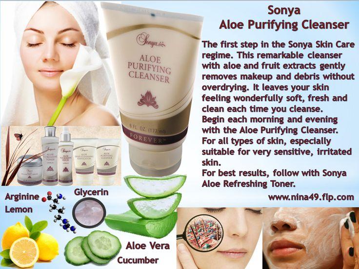 Sonya Aloe Purifying Cleanser order at www.nina49.flp.com