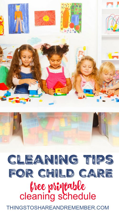 Cleaning Tips for Child Care @Clorox #ad
