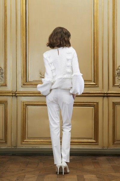 Pantalon et sweater de mariée - Créateur: Delphine Manivet Collection 2015, sweater Adrian - La Fiancée du Panda blog Mariage et Lifestyle