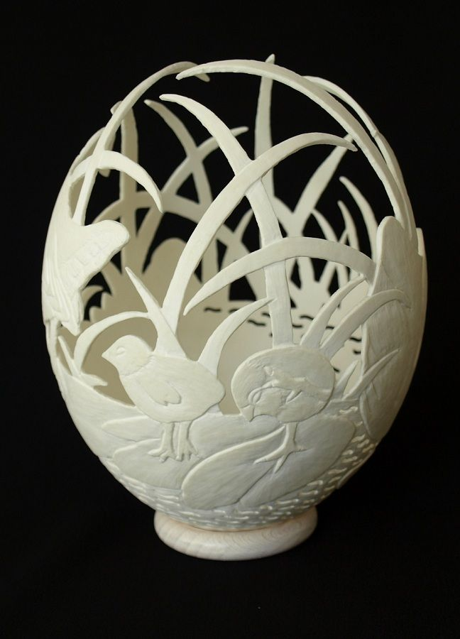 Ostrich Egg Carving Patterns   www.imgkid.com - The Image ...
