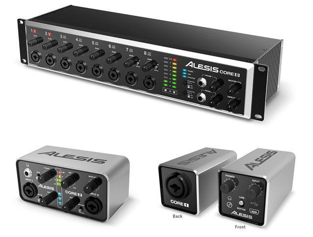 Gearjunkies.com: Alesis announces CORE series of USB Audio Interfaces
