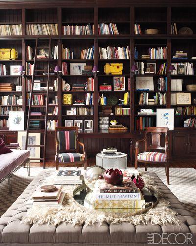 Eclectic library in Belgium