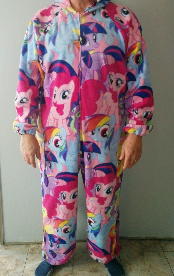 Brony Pajamas by StitchingMyTimeAway on Etsy