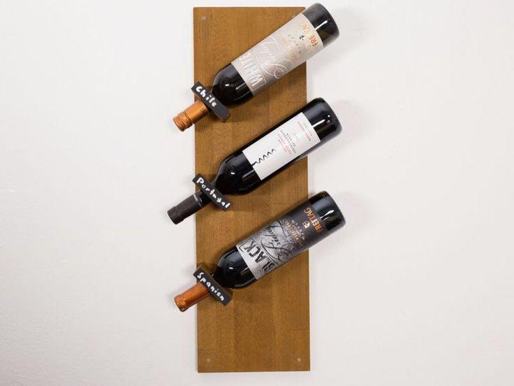 Tutoriel diy fabriquer une tag re murale bouteilles de for Fabriquer une etagere murale