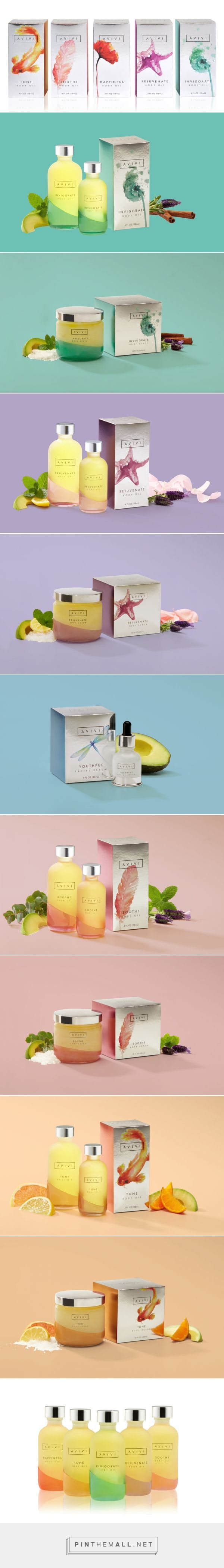 Avivi cosmetics by MSLK - a range of cosmetics containing avocado and looking oh-so-edible