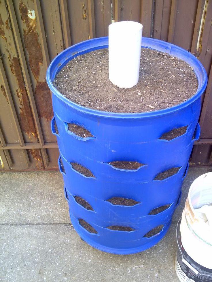 Dry Well Plastic Barrel Google Search Wurmkompost