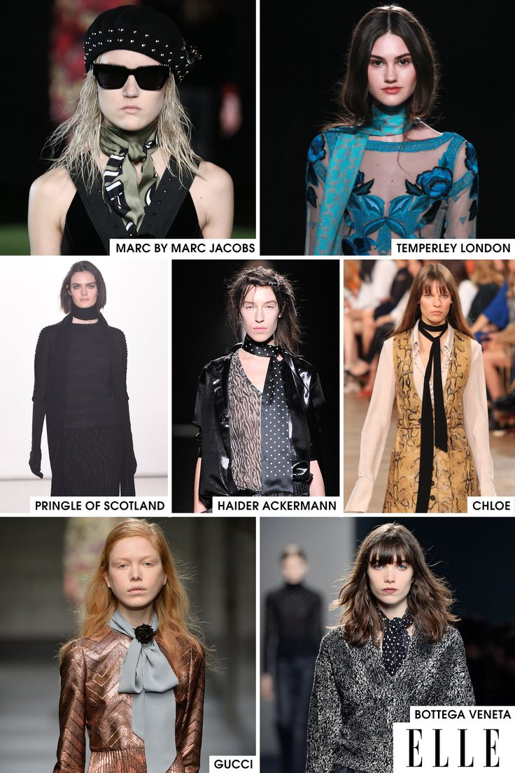A residual effect of the boho trend, which is still holding strong, the skinny scarf is making a play for the must-have accessory of the season. Worn with everything from a casual sweater dress to a full-on gown, the skinny scarf is the one item that can transition very easily between all outfit occasions.   - ELLE.com