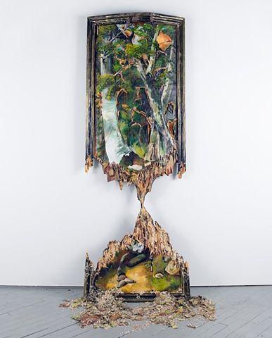 Teetering Trees- Valerie Hegarty