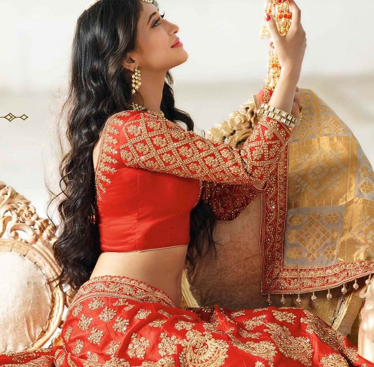 Orange lengha choli, Satin lengha choli, €296.82. Buy latest bridal lengha with custom stitching and worldwide shipping.
