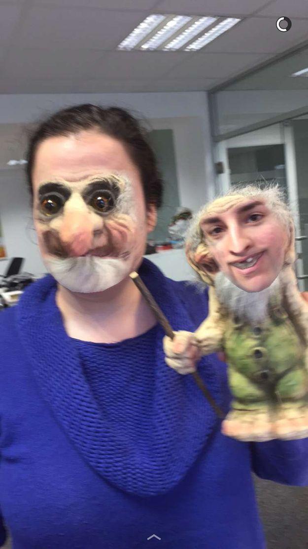 Mais c'est quoi ÇA?! | 18 échanges de visages sur Snapchat tout droit sortis de l'enfer