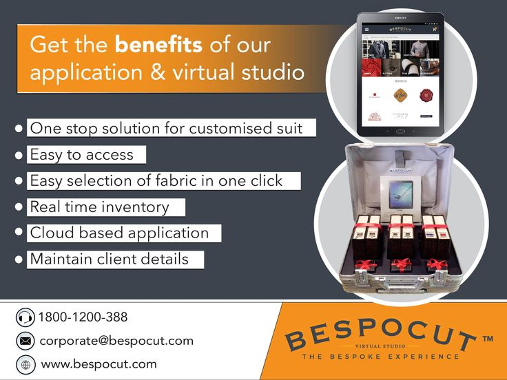 Benefits Of Application And Virtual Studio By Bespocut.