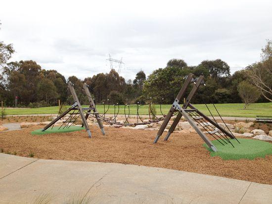 Plough and Harrow Park Playground in Western Sydney Parklands