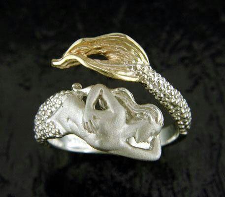 Unique Mermaid ring