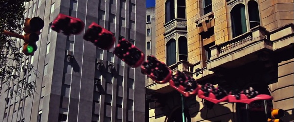 Um passeio de montanha-russa no meio de Buenos Aires!