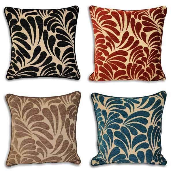 Riva Home Dubai Chenille Velvet Woven Cushion Cover