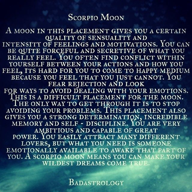 scorpio moon dating scorpio sun How to understand a scorpio rising sign updated on april 17, 2016 mmargie1966 i have libra sun/scorpio rising and taurus moon with( saturn in scorpio.