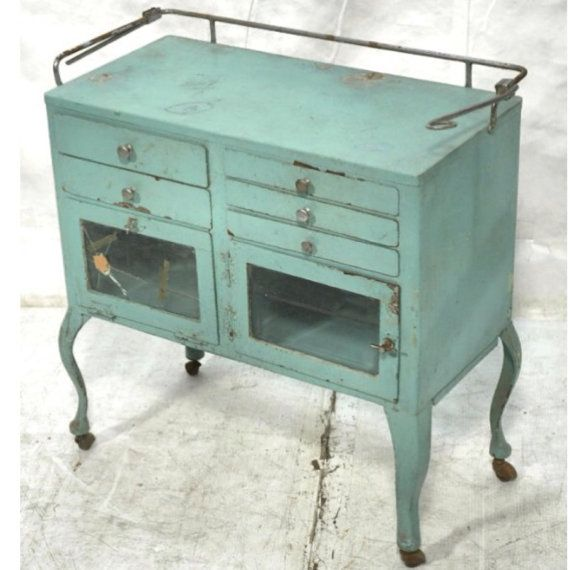 Medical cabinet  vintage industrial by AymiesAttic on Etsy, $525.00