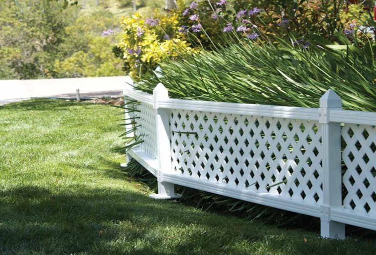 Best Landscaping Along Fence Ideas On Pinterest Fence